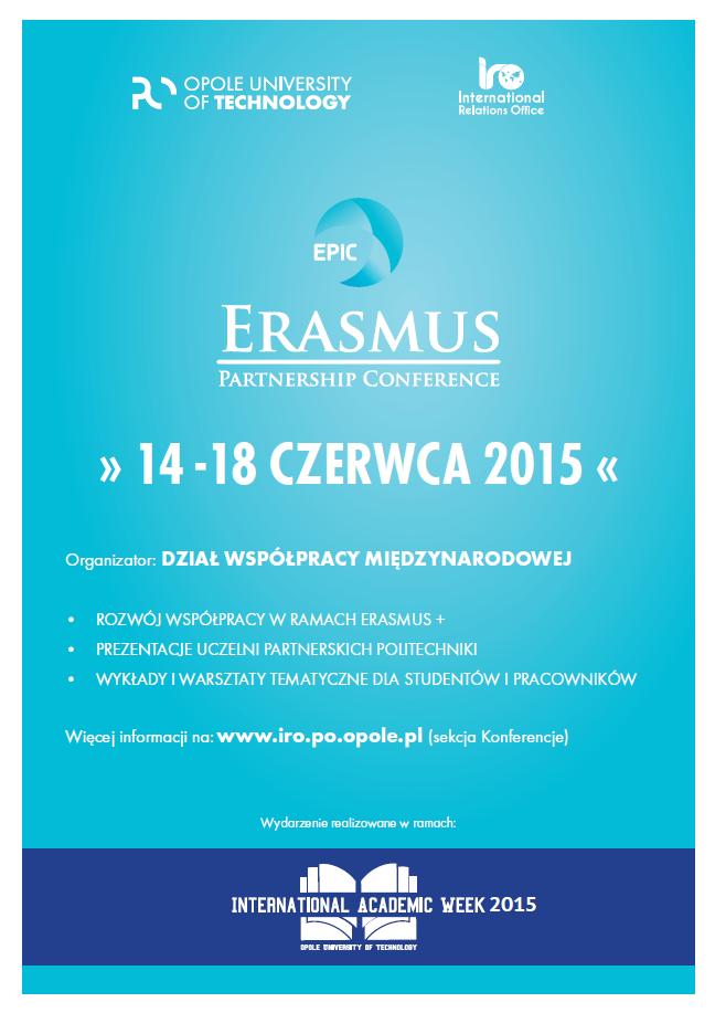 EPIC 2015 - plakat