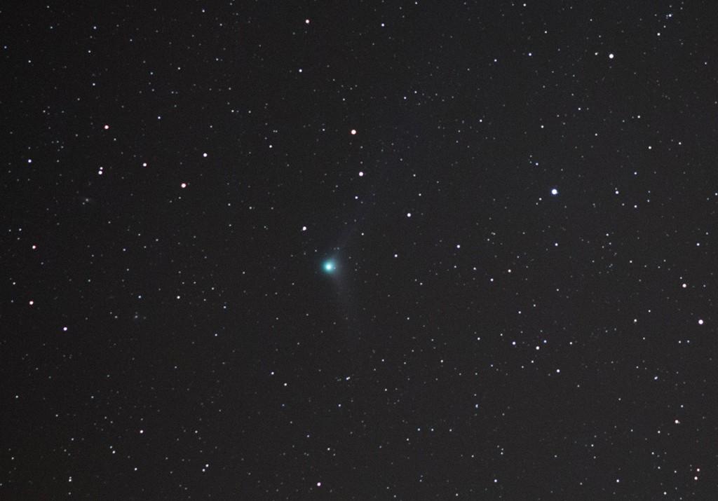 Kometa Catalina sfotografowana przez teleobiektyw 200mm-1