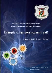 Plakat energetyka