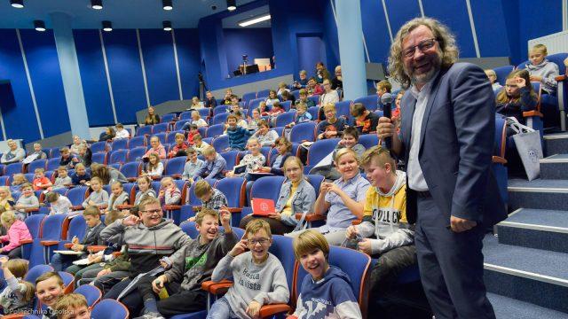 Kapitalny wykład Dziecięcej Politechniki Opolskiej