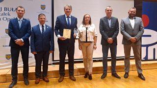 Uroczystość wręczenia nagród podczas gali Izby Gospodarczej w Opolu