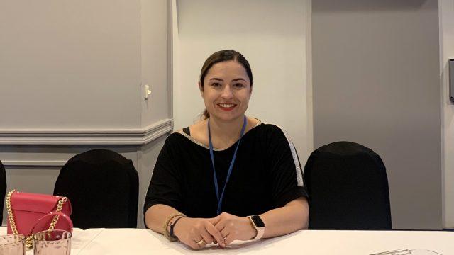Aleksandra Kawala-Steniuk podczas konferencji