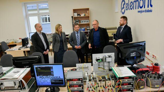 Zwiedzanie laboratoriów WEAiI, firma Elemont