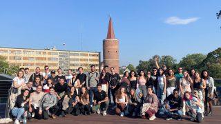 Wycieczka po Opolu studentów Erasmus