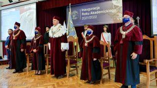 Inauguracja roku akademickiego 2021/2022, aula WBiA