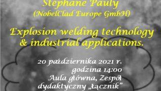 plakat Stéphane Pauly z NobelClad