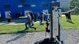otwarcie siłowni, Osiedle Akademickie